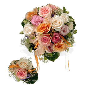 Mutter-Kind-Strauss - Fleurop Blumen verschicken