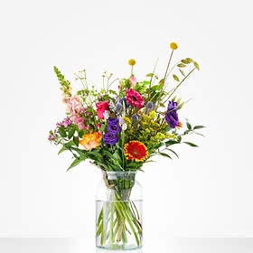 Picking bouquet excl. Vase